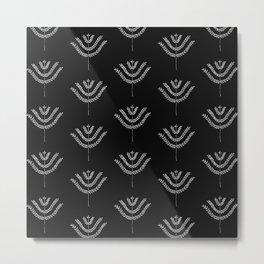 Dark Harvest Pattern Metal Print