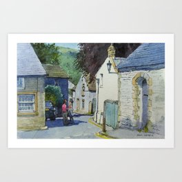 Castleton Art Print