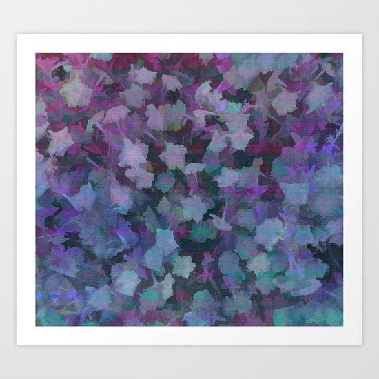 Colorful Flower Music Art Print