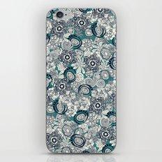 succulents blue indigo iPhone & iPod Skin
