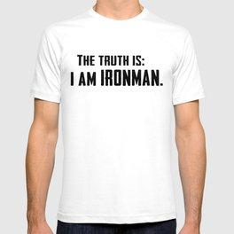 I am IronMan T-shirt