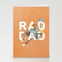 dad Stationery Cards featuring Rad Dad by Heather Landis