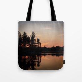Northern Sunset 002 Tote Bag