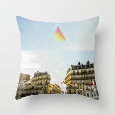 two feelings, one moment Throw Pillow