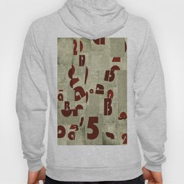 Absract Collage Hoody