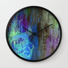 Enchanted Bunny Beats The Burst Wall Clock