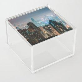 Midnight On Victoria Peak Acrylic Box