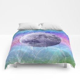 Moon Vortex Comforters