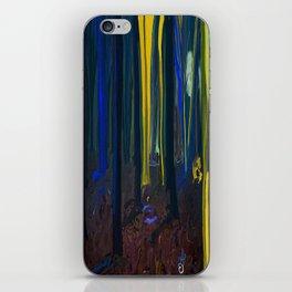 Stay Wild Yellow Moon iPhone Skin