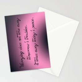Today's Peace Stationery Cards