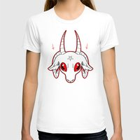 baphomet T-shirts featuring WANNABE BAPHOMET by fuggernuggets