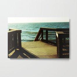 Seaside Dreaming Metal Print