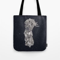 pen Tote Bags featuring - old pen for souvenirs - by Magdalla Del Fresto