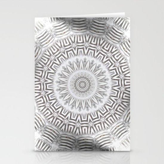 METAL Element Kaleido Pattern Stationery Cards