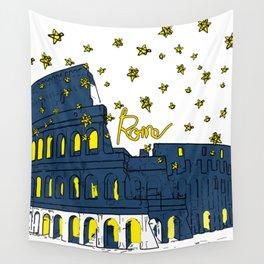Rome Italy Wall Tapestry