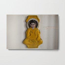Buddha in Nepal Metal Print