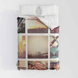 New York Scenes Comforters