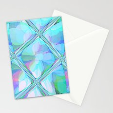 Re-Created  Glass Ceiling VII by Robert S. Lee Stationery Cards