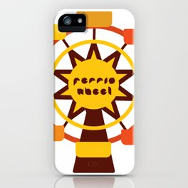Ferris Wheel / Big wheel / park iPhone Case