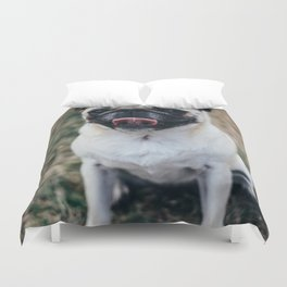 Dog by Guillaume LORAIN Duvet Cover