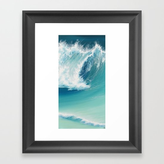 Musical Thunder Framed Art Print
