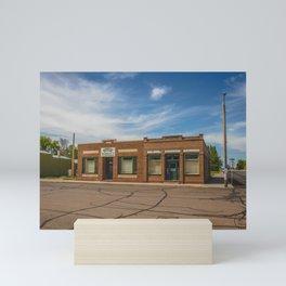 Valley Market, Golden Valley, North Dakota 2 Mini Art Print