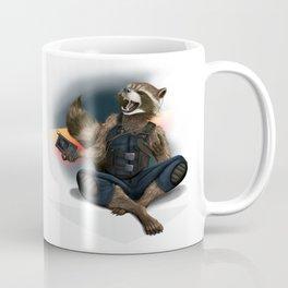 Rockin Raccoon Coffee Mug