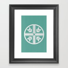 Aztec No. 4 Framed Art Print
