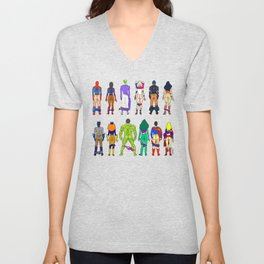 Superhero Butts - Power Couple Unisex V-Neck