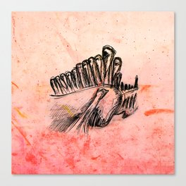 Bones III Canvas Print