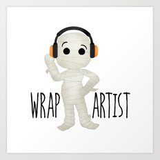 Wrap Artist | Mummy Art Print