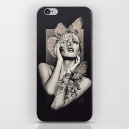 Lady Butterfly iPhone Skin