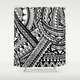 Eternalize/Itetno Shower Curtain