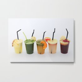 Juicy life Metal Print
