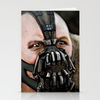bane Stationery Cards featuring Bane by Spiro 1230