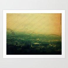 Return to Sender Art Print