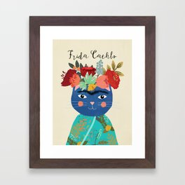 Frida Cathlo Framed Art Print
