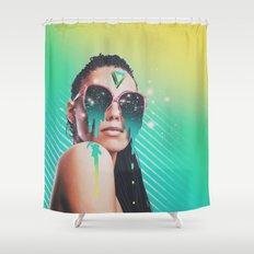 dreamer v01 Shower Curtain