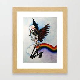 Over the Rainbow Framed Art Print