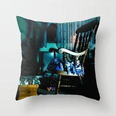 Hello Friend Throw Pillow