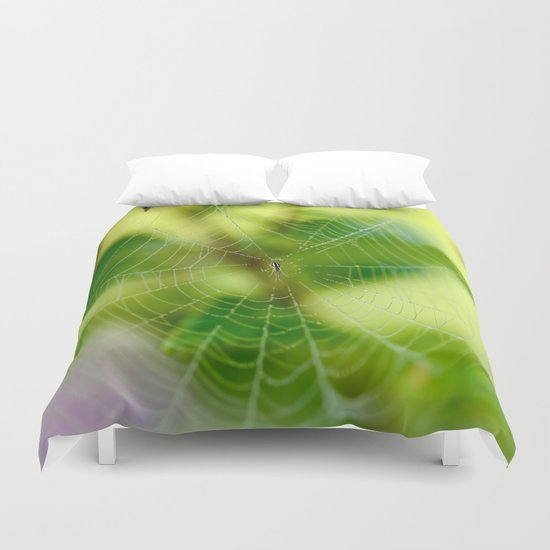 Beautiful Cobweb Duvet Cover