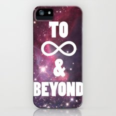 to infinity & beyond iPhone (5, 5s) Slim Case