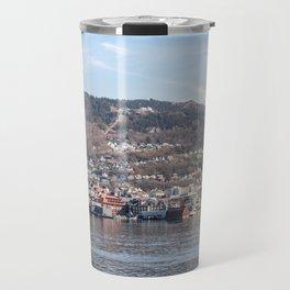 Arrival in Bergen Norway Travel Mug