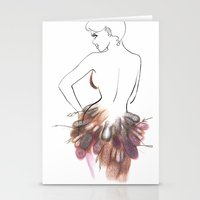 chic Stationery Cards featuring Chic by Sarah Soh