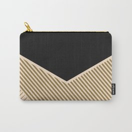 Geometric in line Carry-All Pouch