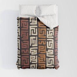 African Kuba Cloth Comforters