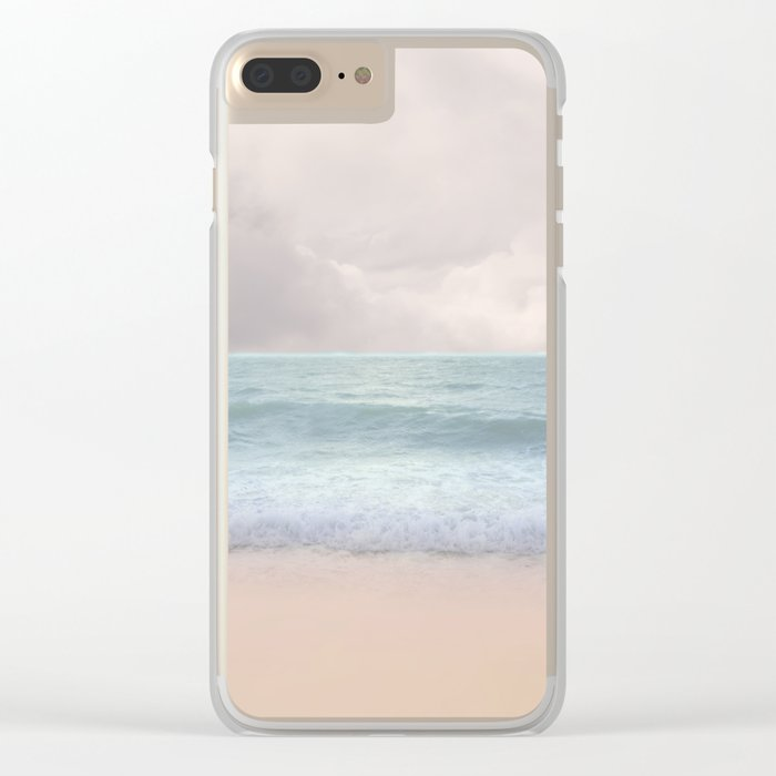 Pastel vibes 49 Clear iPhone Case