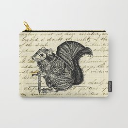 Warrior Squirrel Carry-All Pouch