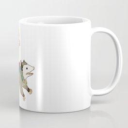 Opossum Carousel Coffee Mug