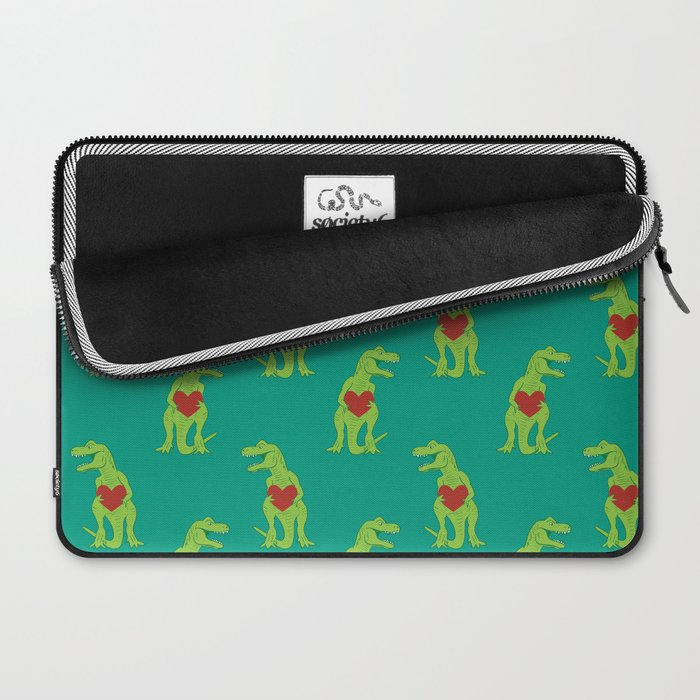 T-rex Love Laptop Sleeve